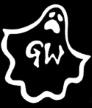 GW logo 108 white on black